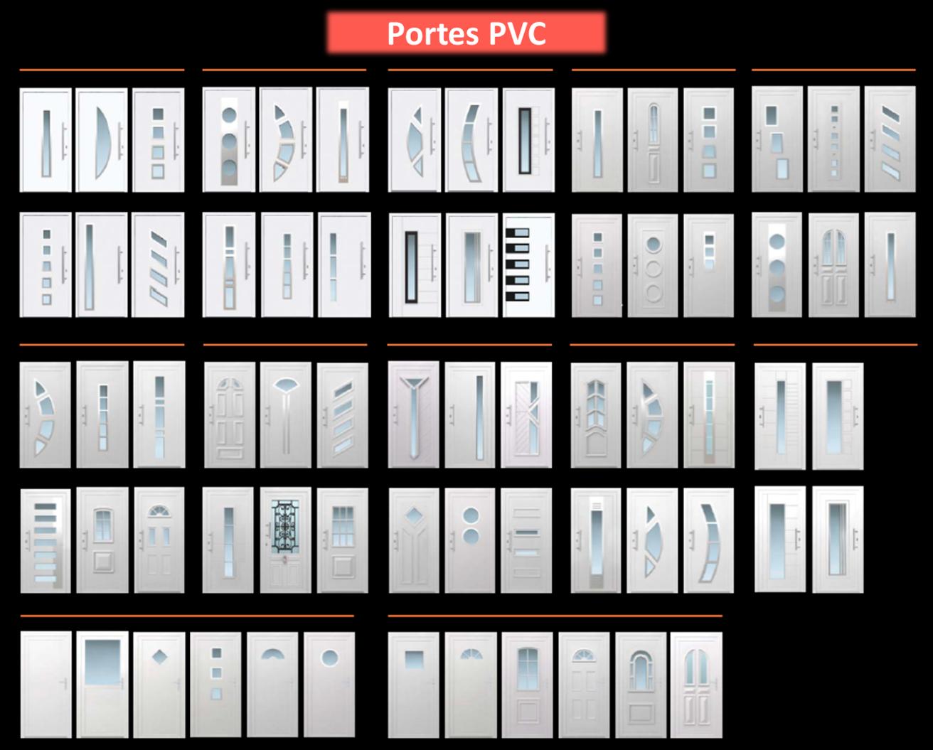 Portes PVC Revue