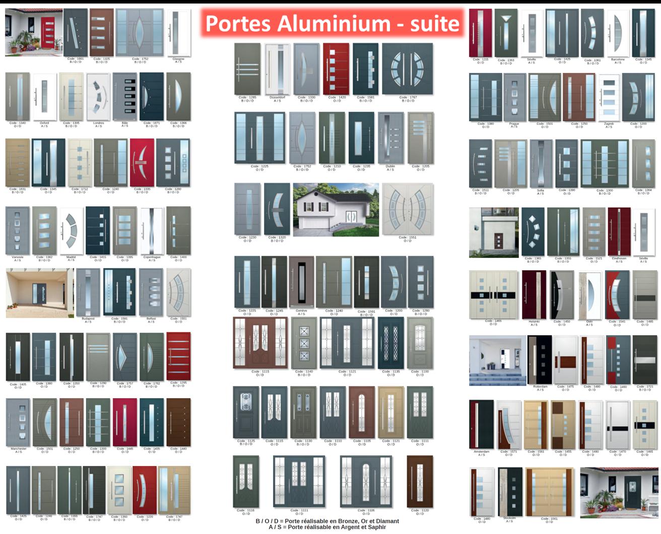 Portes Aluminium-Suite