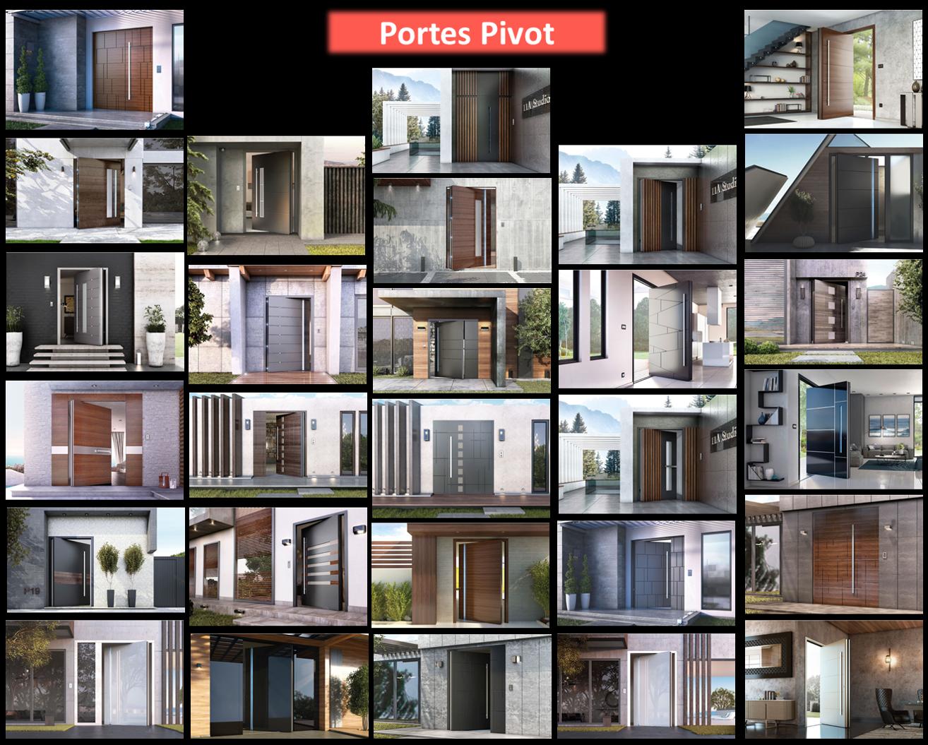 Portes Pivot Revue